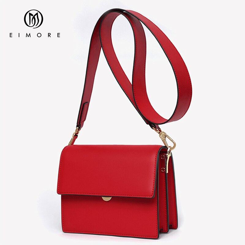 EIMORE сумки для женщин сумка 2019 Кожа Роскошные дизайнерская сумка через плечо женская