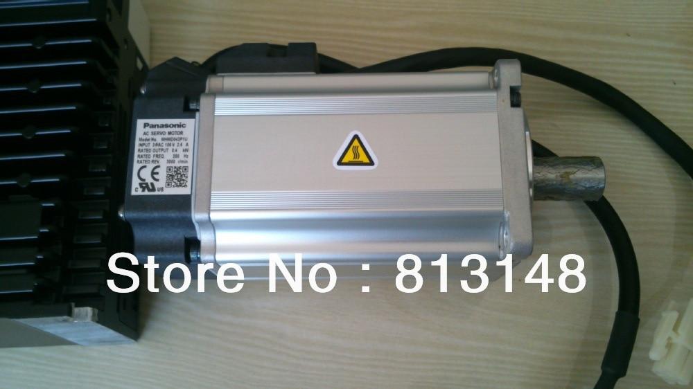 Livraison gratuite 400 W PANASONIC CNC AC sans balais servomoteurs