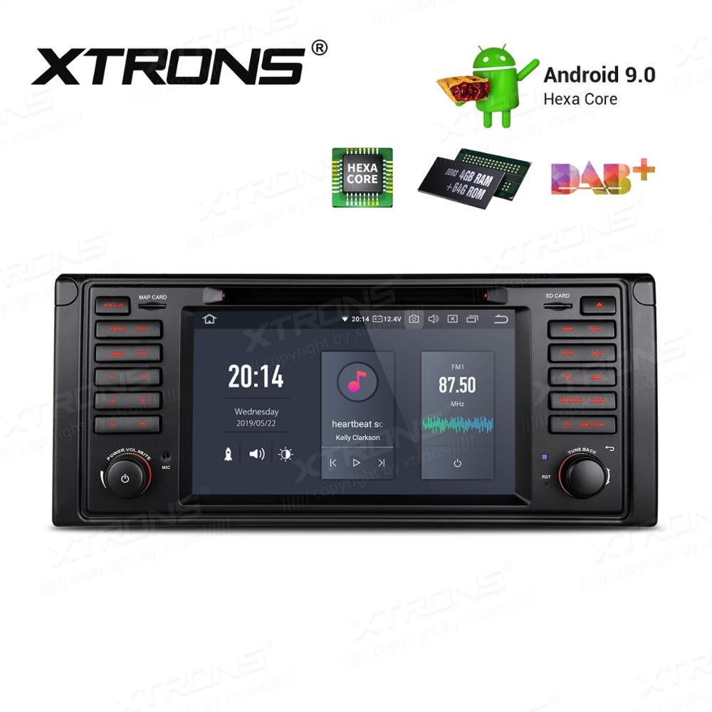 7'' Android 9.0 Multimedia Hexa Core 64GB Car Radio DVD Player GPS Navigation for BMW E39 1995-2003 E38 1994-2001 5 7 Series M5 image