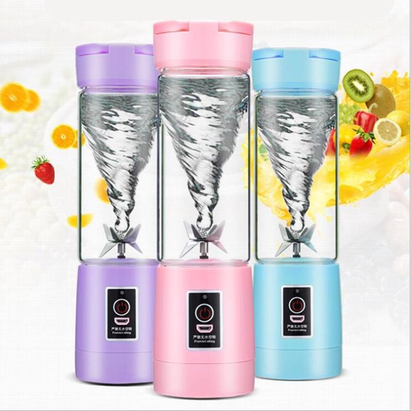 Mini blender hand blender travel blender the rechargeable portable juicer цена