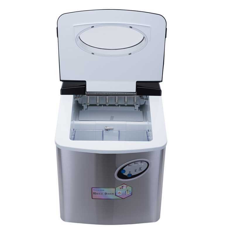 220V Commercial 30KG/24H Round Ice Maker Machine For Shop Bar Restaurant Household Ice Cube Making Machine EU/AU/UK/US Plug