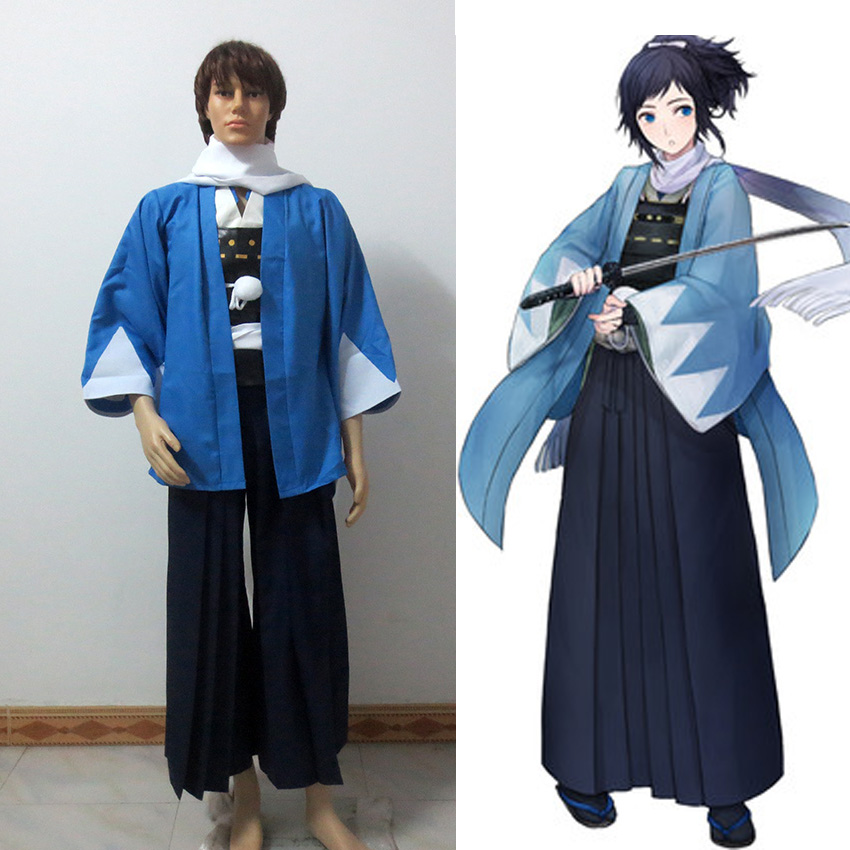 Touken Ranbu Online The Sword Dance Yamatonokami Yasusada Cosplay Costumes Kimono Fighting Suit стоимость