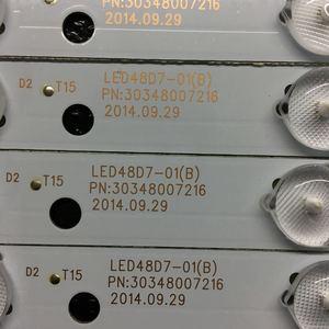 Image 2 - 10 Miếng Dán Đèn Nền LED Cho Hải ER LE48F3000W Thanh Nhẹ LED48D7 ZC14 01 LED48D8 ZC14 01