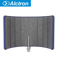 Alctron VB660 mic acoustic screen isolates the noise, four layer absoption material