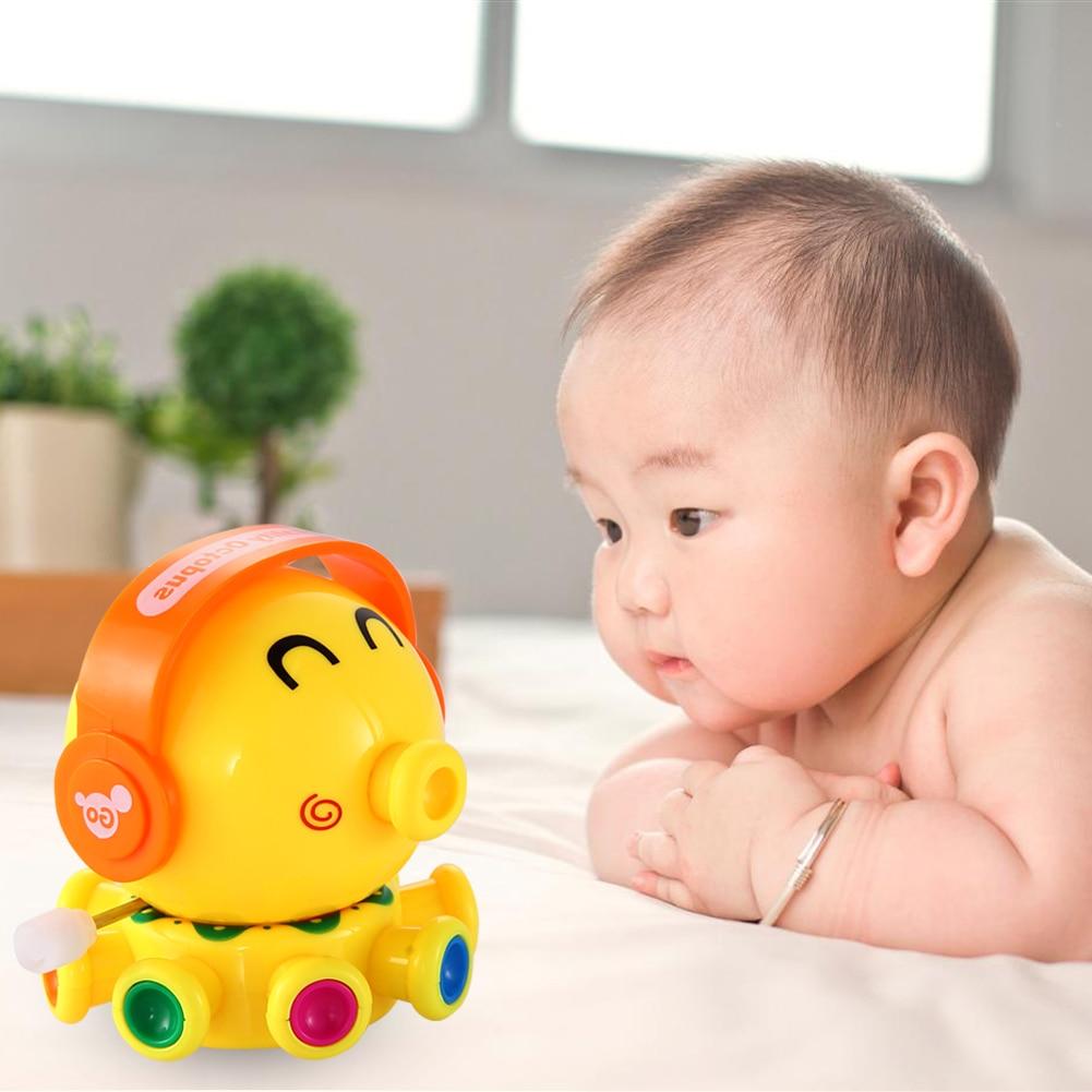 Cute Wind Up Leksaker Animal Octopus Åtgärd Siffror Leksaker Rotation Leksaker för barn Clockwork Toy för Baby Födelsedagsgåva
