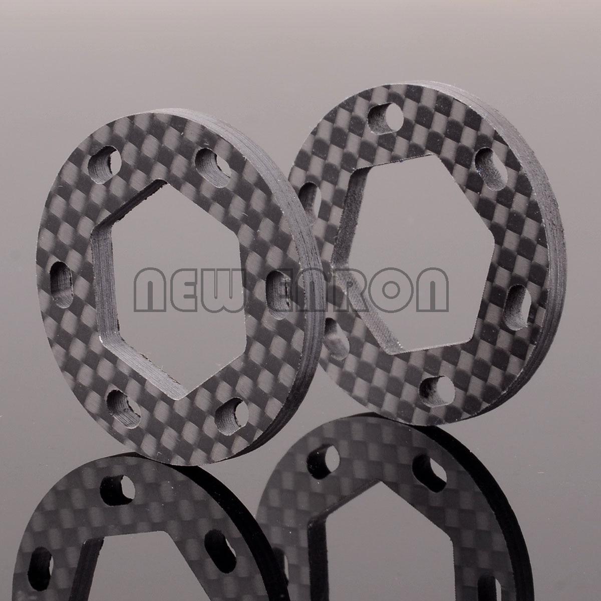 NEW ENRON 2P Carbon Fiber DUAL FIBERGLASS BRAKE DISK 19x35x3mm HPI 87055 SAVAGE X 4.6 5.9