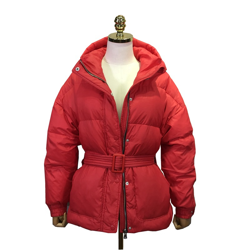 Autumn Winter Women Parkas   Down     Coats   Jacket with Hoody 80% Duck   Down   Lady Warm Slim Outerwear Overcoat LF5144