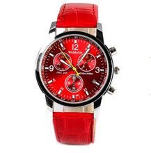 Womage Quartz Watch Men Fashion & Casual Luxury Leather Watches Elegant Sports Out Door Wristwatch relojio Hot Sal male clock