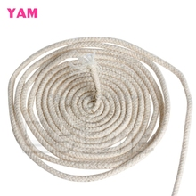 YAM 10M 33 Ft Braided Cotton Core Candle Making Wick 4mm For Oil Kerosene  Lamps  B119