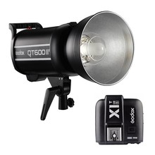 Godox QT600IIM +Trigger Photography LED Light for Sony QT-600 II 600WS HSS Studio Flash Light With Transmitter Lamp For Camera godox led170 dv camera lamp news light