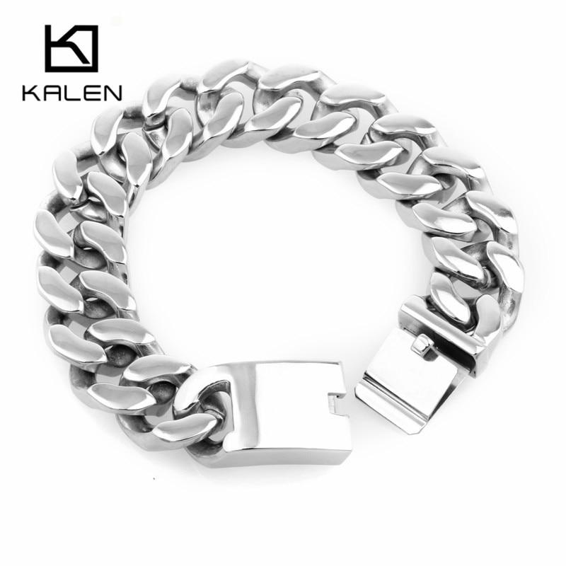 ANAZOZ Stainless Steel Silvery Cuff Bangle Brown Biker Bracelet Chunky Wide Leather Mens Jewelry