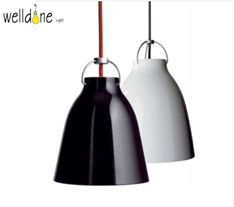 Black white E27 simple sofa design scandinavian Aluminum Suspension Pendant Lamp Light For Dining Room Bar lampBlack white E27 simple sofa design scandinavian Aluminum Suspension Pendant Lamp Light For Dining Room Bar lamp