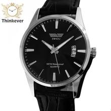 GW1141 SWIDU Waterproof Calendar Business Watch Men Casual Quartz Wristwatch Men Fashion Outdoor Sports Watch Relogio Masculino