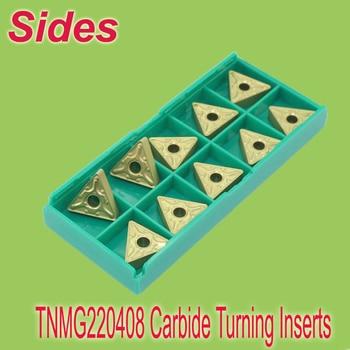 Free Shiping  TNMG220408  Indexable Triangle Carbide Turning Inserts Cutter  for Lathe Holder MTJNR/MTENN/MTQNR
