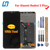 Xiaomi Redmi 5 Plus LCD Display Touch Screen Test Well FHD 5 99 Digitizer Screen Glass