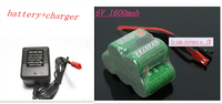 6V 2 3A 1600MAH 2 3A 5x1 2V NI MH Rechargeable Battery Trapezoidal Gasoline Receiver