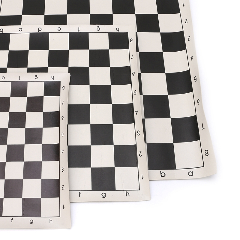 New HOT 1PC Imitation Leather International Chess Chessboard Roll Portable Board Game Gift