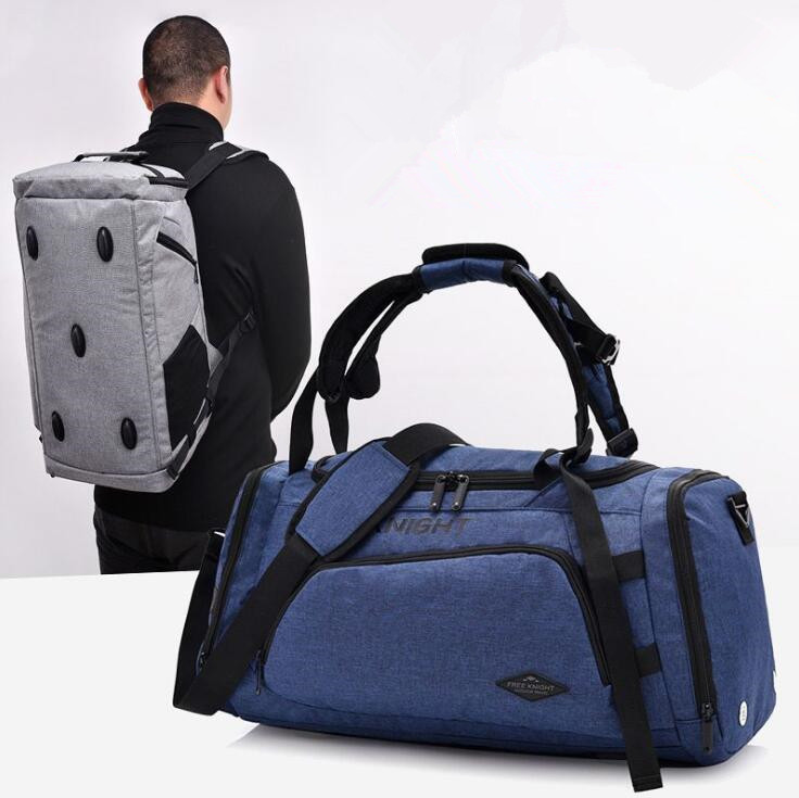 Hot Big Capacity Outdoor Sports Single Shoulder Fitness Bags Multifunction Sporting Handbag Training Gym Bag for Women Men