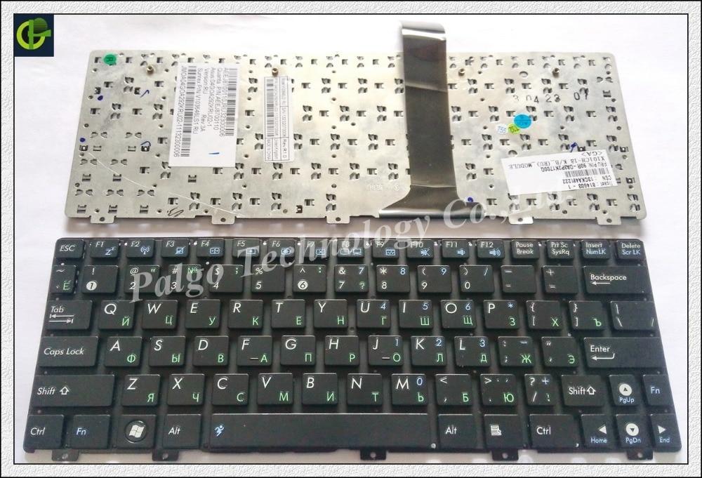 Tastiera RU russa per Asus Eee PC EPC 1015 1015B 1015PN 1015PW 1015T 1011px 1015BX 1015CX 1015PX 1025 1025C TF101 1025CE RU