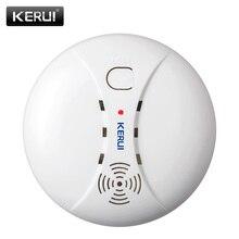 Kerui Беспроводной Пожарная безопасность Детекторы дыма Портативный сигнализации Датчики для дома Охранной Сигнализации Системы в нашем магазине