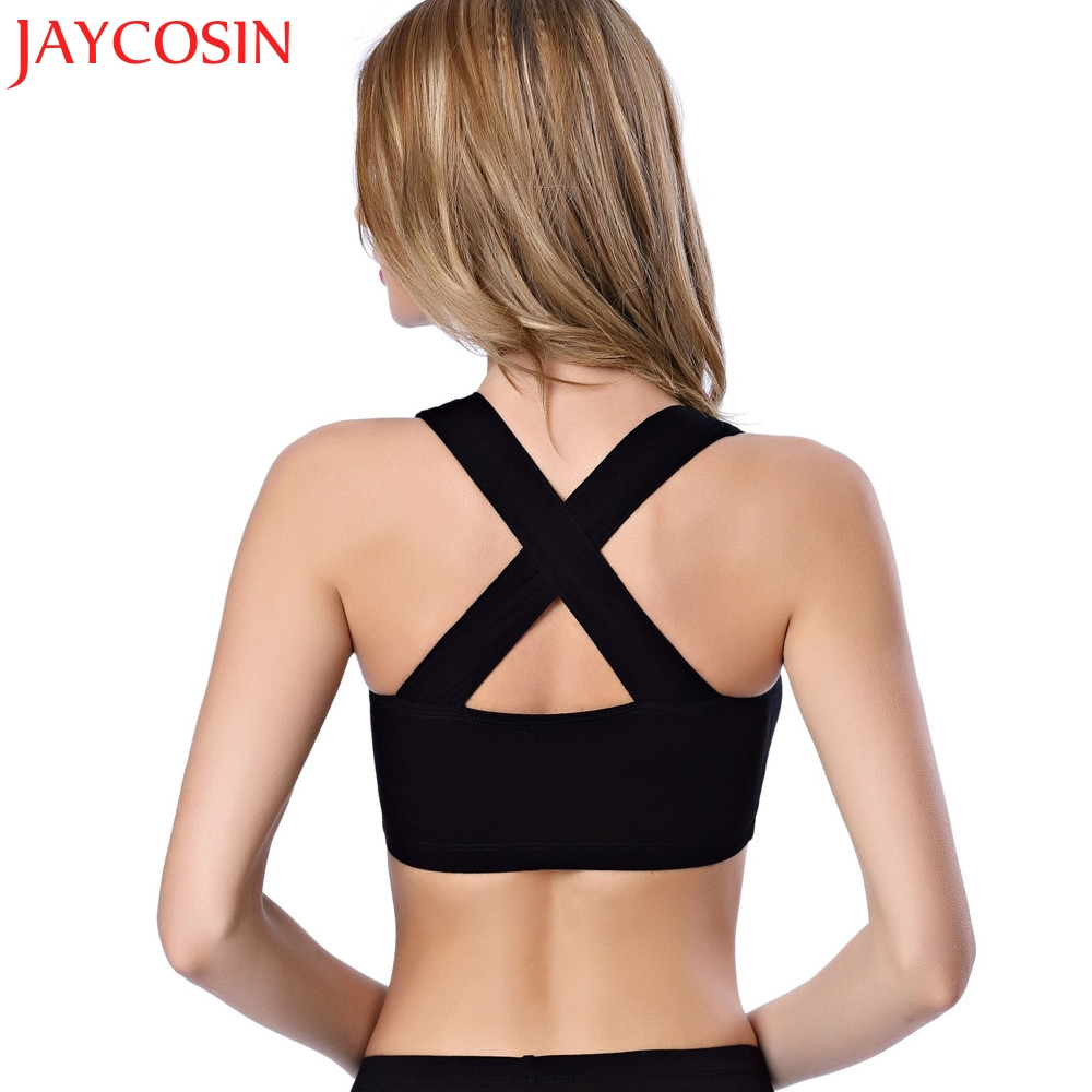 JAYCOSIN 2018 Sexy Women Condole belt Bustier Bralette Corset Tops Pure Cut Out Bra Crop Intersect Tank Top Drop Shipping 05.17