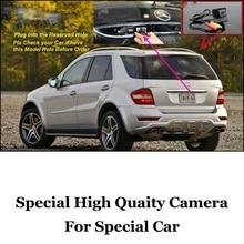 Original Reservados Buraco Câmera Do Carro Para Mercedes Benz ML Classe M MB ML330 W164 ML350 ML450 ML500 ML63 AMG Rear View BackUp CAM RCA