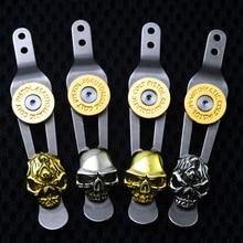 XM18 Back Clip Titanium XM-18 Hinderer Tool Parts ZT0801