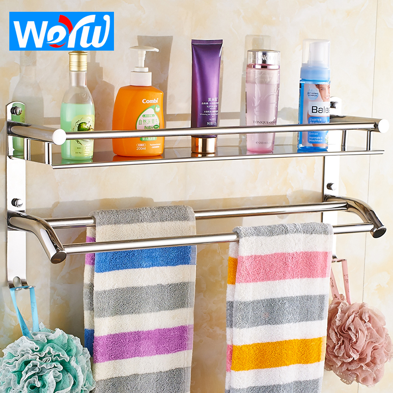 Buy weyuu bathroom shelves stainless - Bathroom shelves stainless steel ...