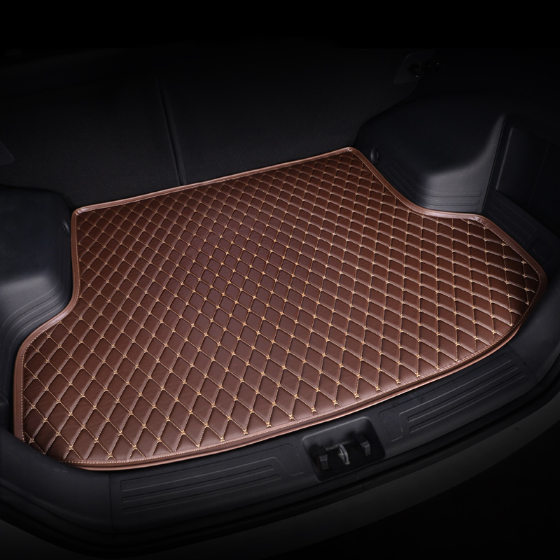 Kalaisike Custom Car Trunk Mat For Hyundai All Models Solaris Tucson 2016 Sonata Ix25 I30 Getz Custom Cargo Liner