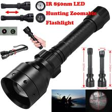 2017 NEW Long Range Infrared 10W IR 850nm T50 LED Hunting Light Night Vision Torch 18650 731