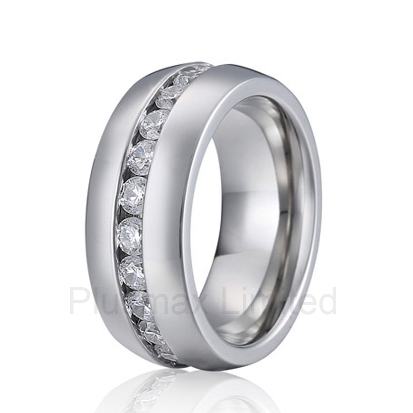 new arrival Anel unique modern designs men and women fashion cubic zirconia anti allergic titanium jewelry wedding rings new arrival buy your beautiful wedding band factory direct mens and womens anti allergic titanium jewelry fashion finger ring