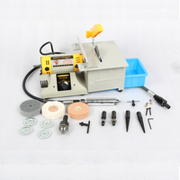 Multifunction Jewelry Polishing Cutting Holing Engraving Machine Mini Electric Cutter For Stone Jade Wood With 350W
