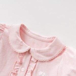 Image 5 - DBQ9635 ديف بيلا الصيف طفلة الأميرة لطيف الصلبة اللباس أزياء الأطفال حزب اللباس الاطفال الرضع لوليتا الملابس