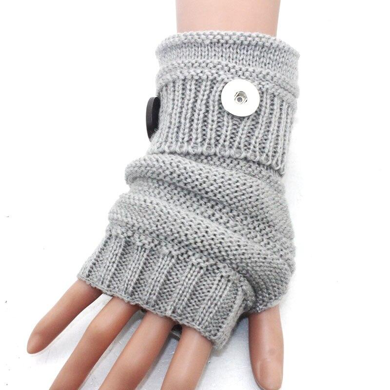 ツ)_/¯5 colores invierno cálido 18mm metal botón guantes Snap ...