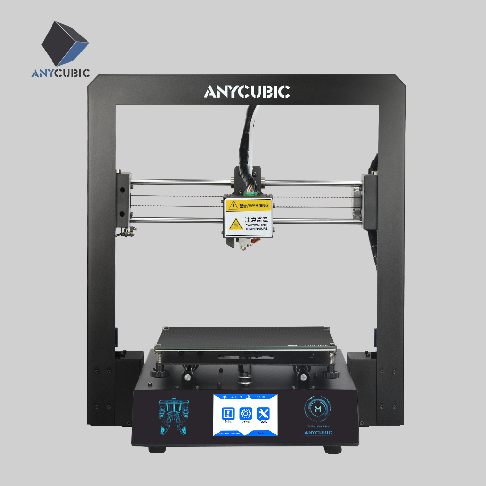 Anycubic 3D Printer I3 Mega Large Print DIY Kit Space TFT Color Touch Screen Full Metal