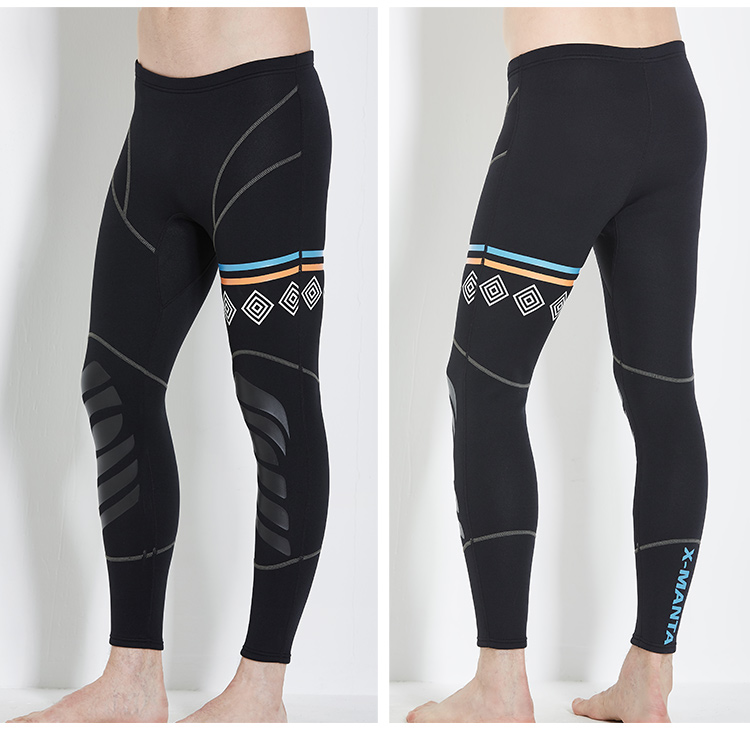 2017 NEW Men Surfing pants 1.5MM Neoprene Rash guard Pants Swimsuit Diving pants