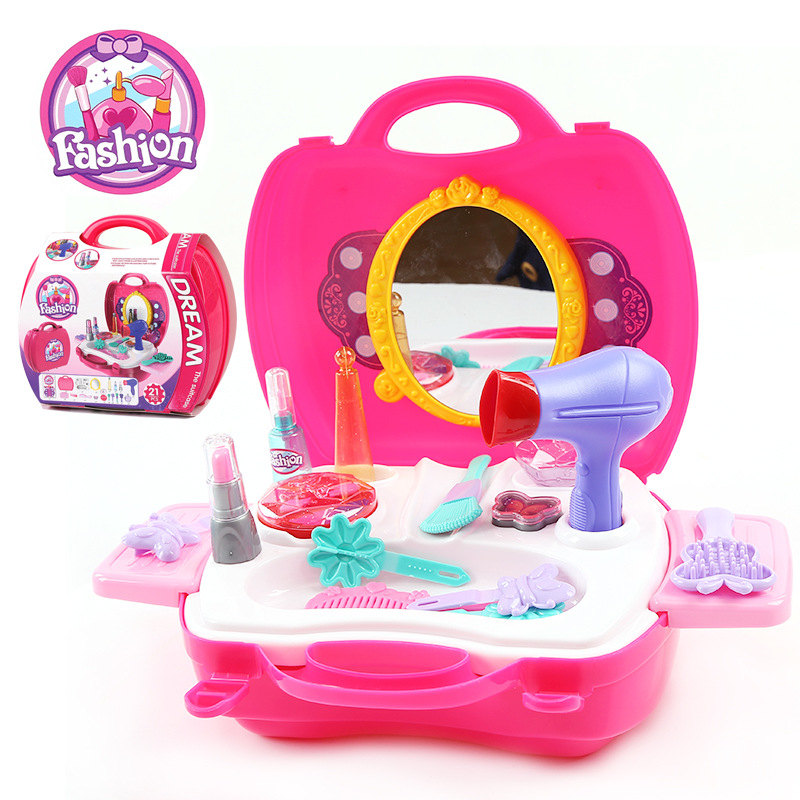Plastic Pretend Play Children Simulation Dressing Table Playset Toys  Furniture Set For Girls Gifts In Furniture Toys From Toys U0026 Hobbies On  Aliexpress.com ...