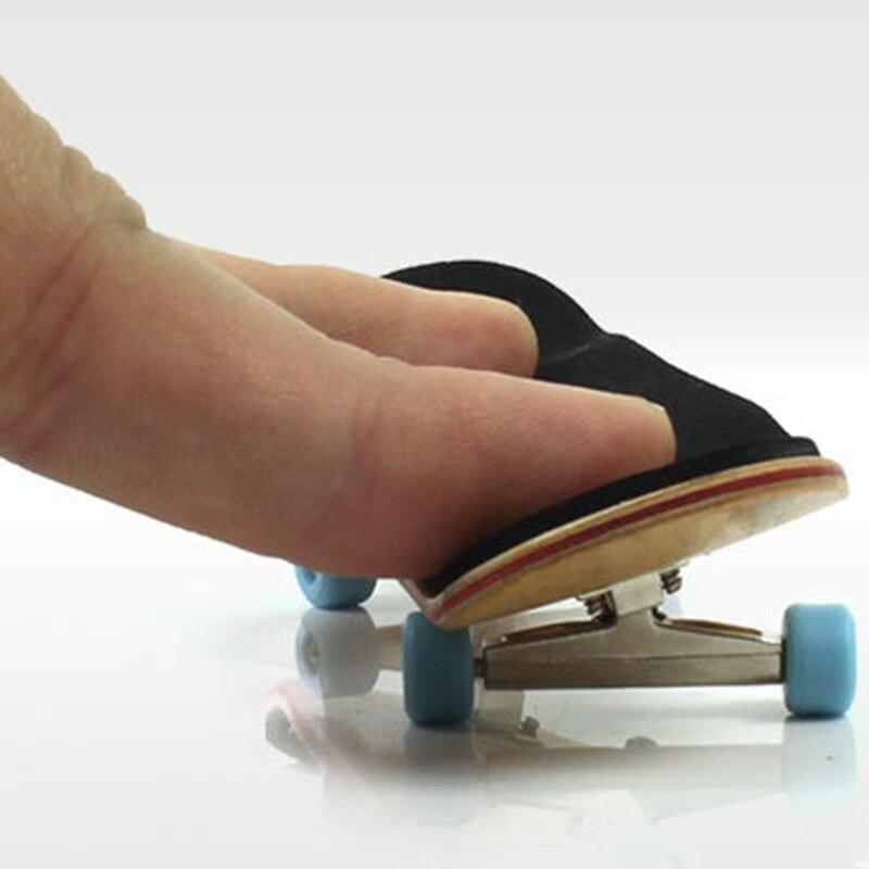 TOFOCO 130mm Wooden Deck Fingerboard Skateboard Sport Games Kids Maple Wood Popular Toys Random Color