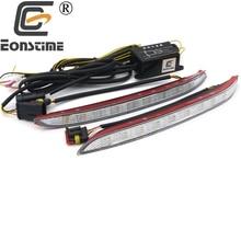 Eonstime 2pcs 12V High Bright Daytime Running Light DRL Fog Driving font b Lamp b font