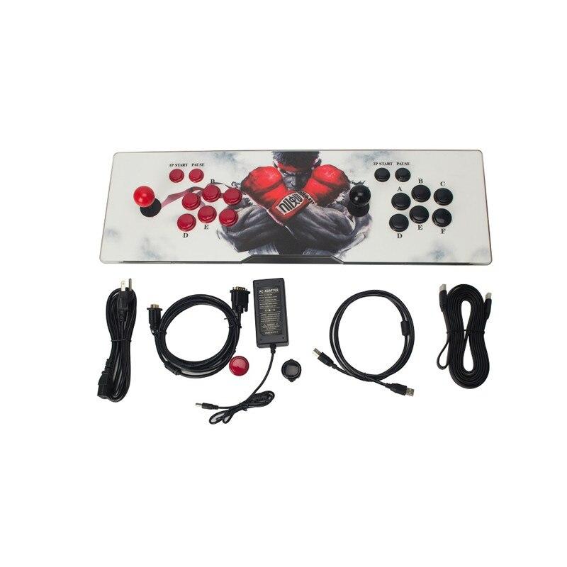 Boîte de pandore 5 986 Console d'arcade USB Joystick boutons d'arcade avec lumière 1 joueur 2 joueurs contrôle rétro boîte de jeu d'arcade
