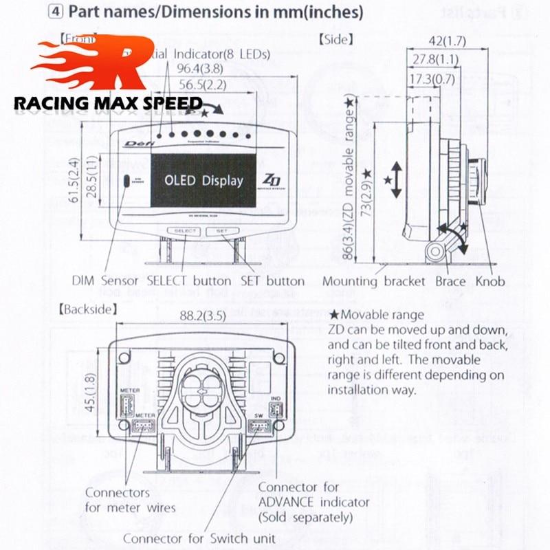 HTB1p8kCNVXXXXceXFXXq6xXFXXXG aliexpress com buy df zd meter advance gauge display digital defi advance zd wiring diagram at creativeand.co