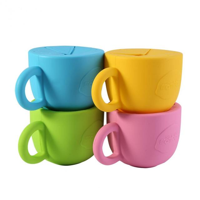 Children's Colorful Anti-Spill Bowl
