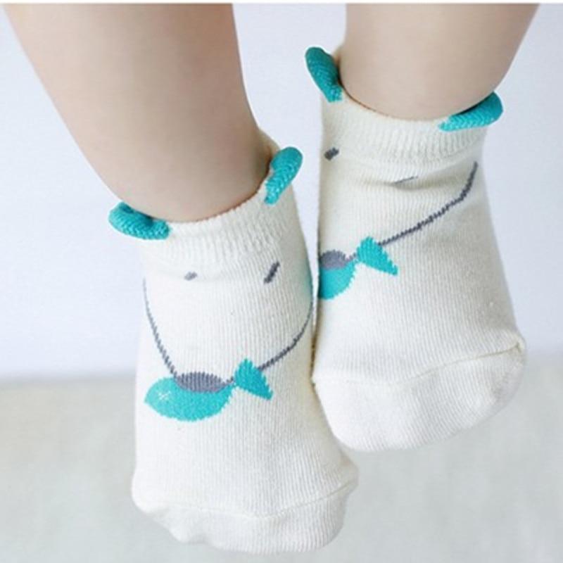 √2018 bebé animal lindo Calcetines algodón piso barco Calcetines ...