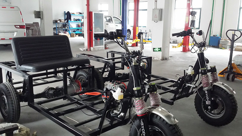R&D complete nice chassis