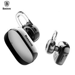 Baseus Mini Bluetooth Earphone Hands-free Wireless Bluetooth Headset Headphone with Mic 4.1 Ear Hook Earbuds Earpieces For Phone
