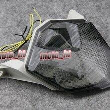 Светодиодный фонарь встроенными поворотными сигналами для Kawasaki Ninja ZX6R 2009 2010& ZX10R 2008-2010& Z750 2007-2011& Z1000 2007 2008