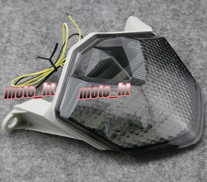 LED Taillight integrated Turn Signals For Kawasaki Ninja ZX6R 2009 2010 & ZX10R 2008-2010 & Z750 <font><b>2007</b></font>-2011 & <font><b>Z1000</b></font> <font><b>2007</b></font> 2008 image