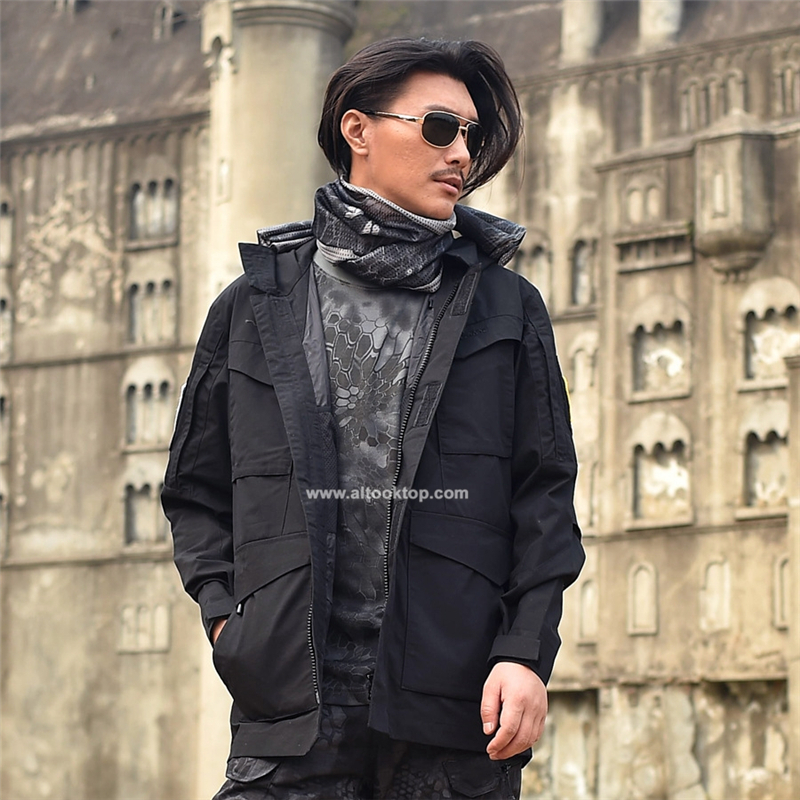 c4855234245 Military Jacket army clothes tactical windbreaker men winter autumn  waterproof pilot coat hoodie camouflage clothing -in Military from Novelty    Special Use ...