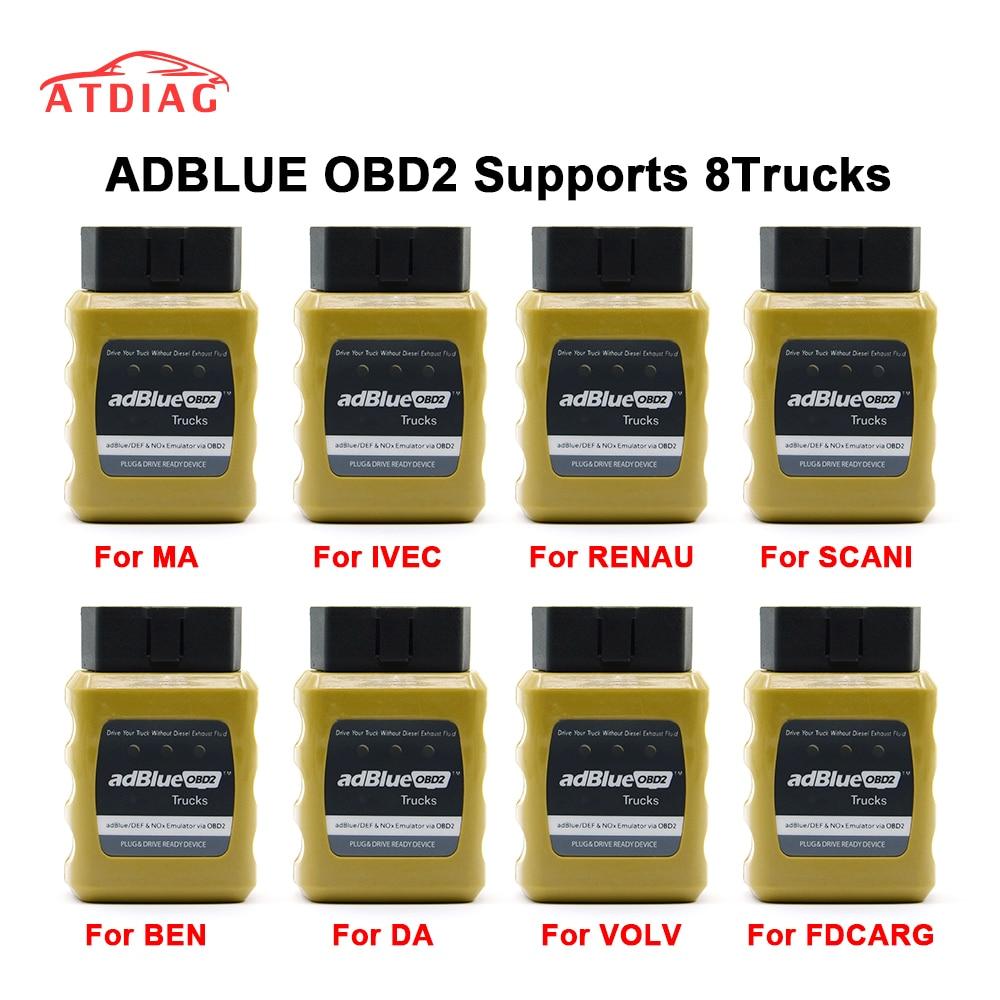 Generous 2019 Adblue Emulator Nox Emulation Adblueobd2 Plug&drive Ready Device By Obd2 Trucks Adblue Obd2 For Trucks Diagnostic Tools