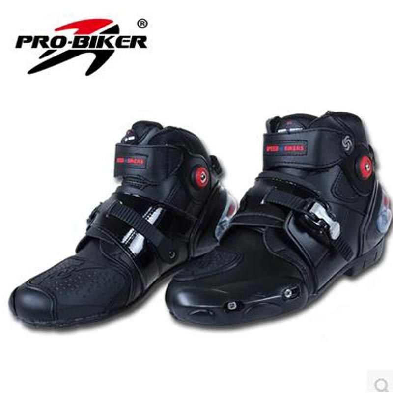 Top leather racing motocross boots botas motorcycles moto shoes racing pro biker  motorcycle boots 40/41/42/43/44/45